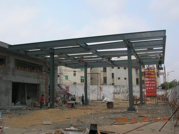 新兴加油站钢结构工程1
