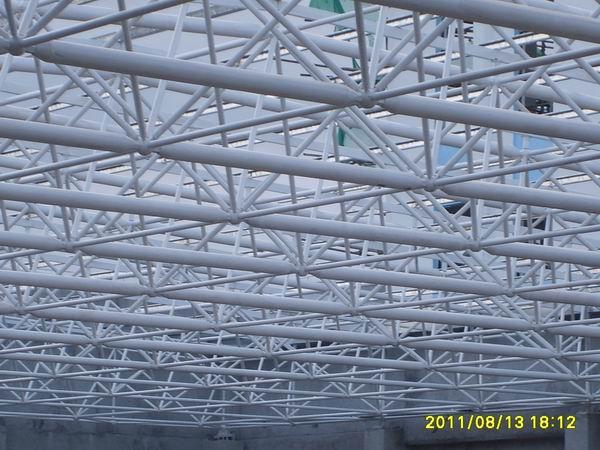 >工程展示>空间网架结构